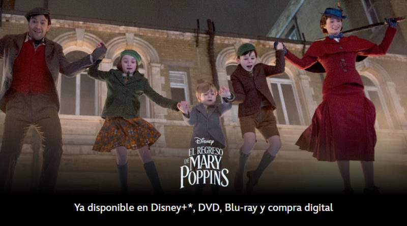 El regreso de Mary Poppins Disney+ 2018
