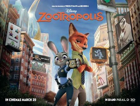 Película zootropolis de animales originales y divertidos