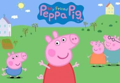 Sigue triunfando la Serie de Peppa Pig en la Televisión!