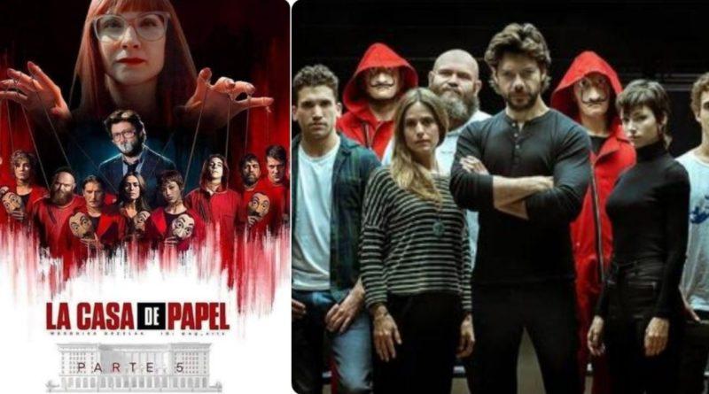 la casa de papel temporada 5